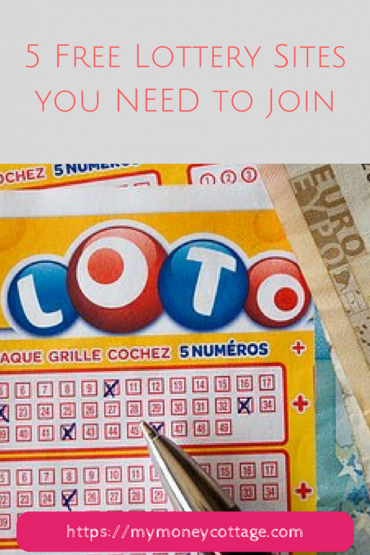5 Free Lottery Sites you NEED to Join Winning the