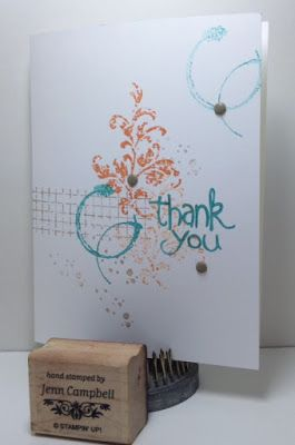 Stylin' Stampin' INKspiration: Thank You Cards