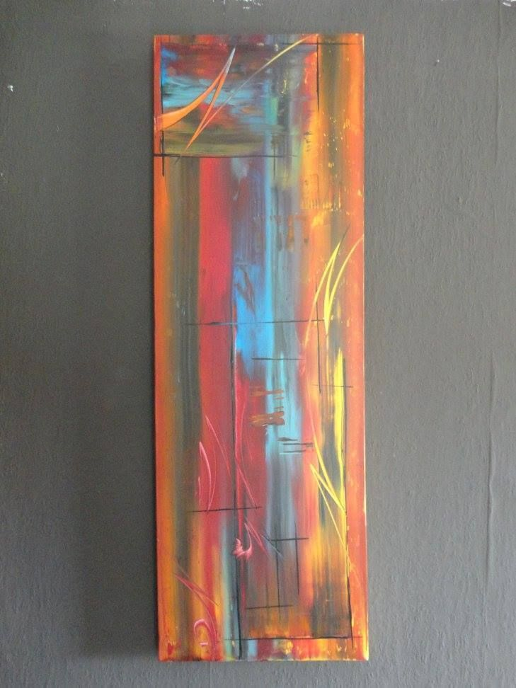 XL Bild abstrakt Acryl Bilder modern Gemälde Kunst Original Deko ...