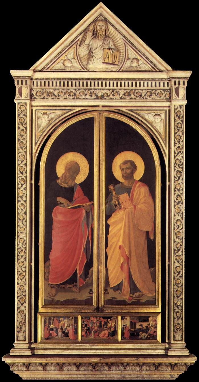 1433 Linaioli Tabernacle Fra Angelico Art de la