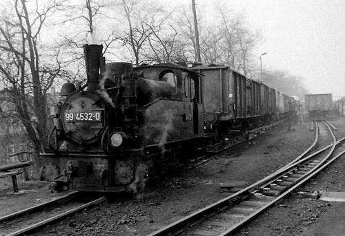 https://flic.kr/p/njf8TR | Bahnhof Zittau in der DDR 1985 | Güterverkehr bei der Zittauer Kleinbahn 1985
