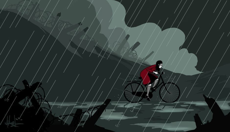 Gary Ives | 'Through the Storm' Illustration by Mike S. Young