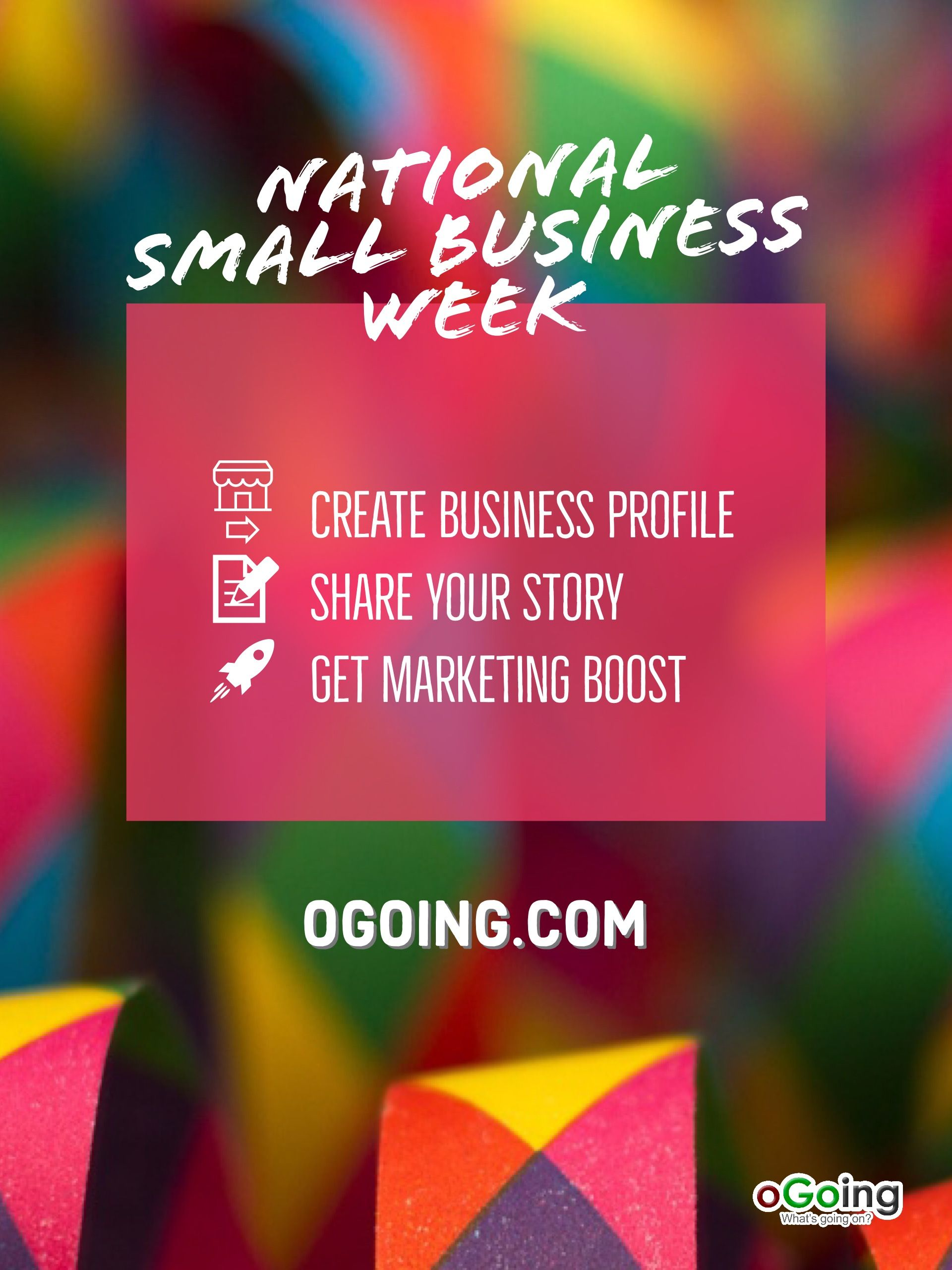 Pin About Small Business Week And National Small Business