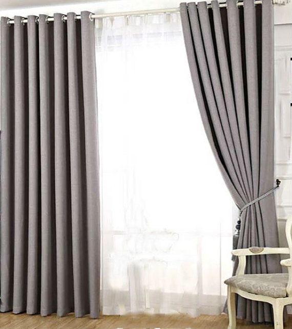 Custom Curtains Custom Drapes High Quality Solid Curtain Panel