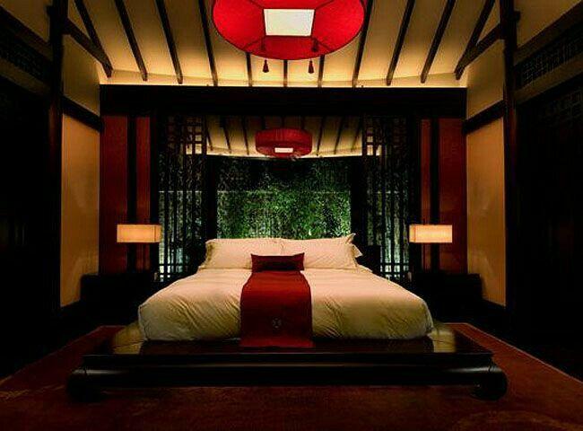 Schlafzimmerdeko, Schlafzimmer Ideen, Asiatische Schlafzimmer,  Deckenarchitektur, Bettlaken, Innenarchitektur, Zen, Modern Asiatisch