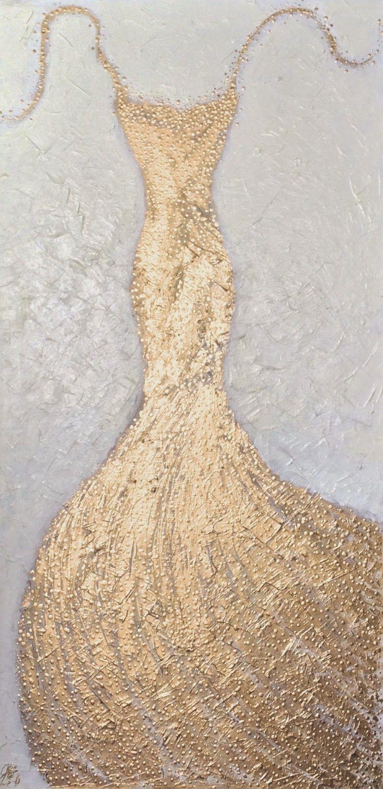 Golden Gown IV | Art. Passion. ZsaZsa Bellagio