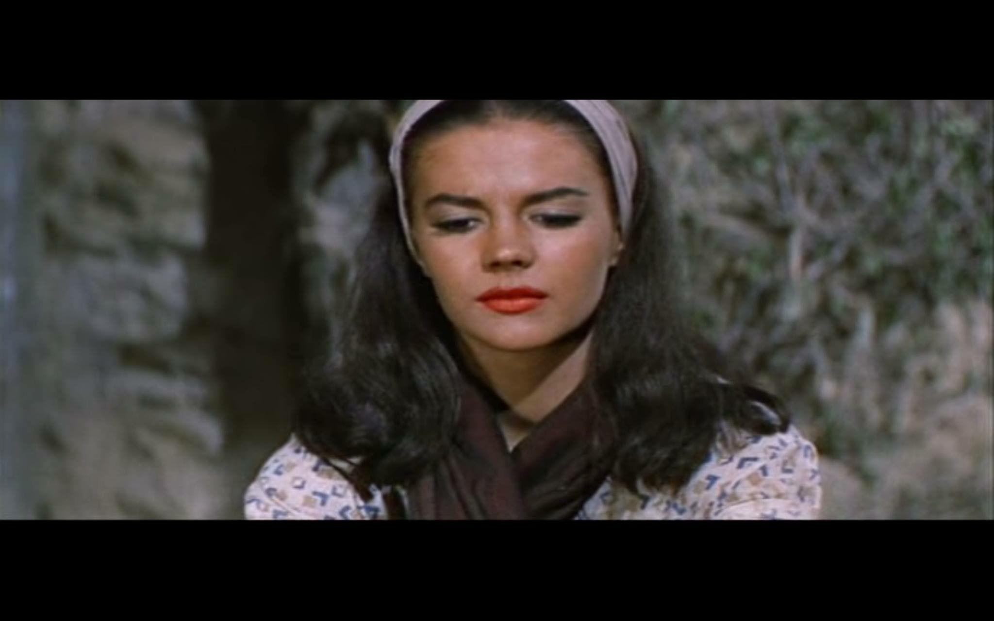The Burning Hills (1956) #lavender | Natalie Wood Scrapbook
