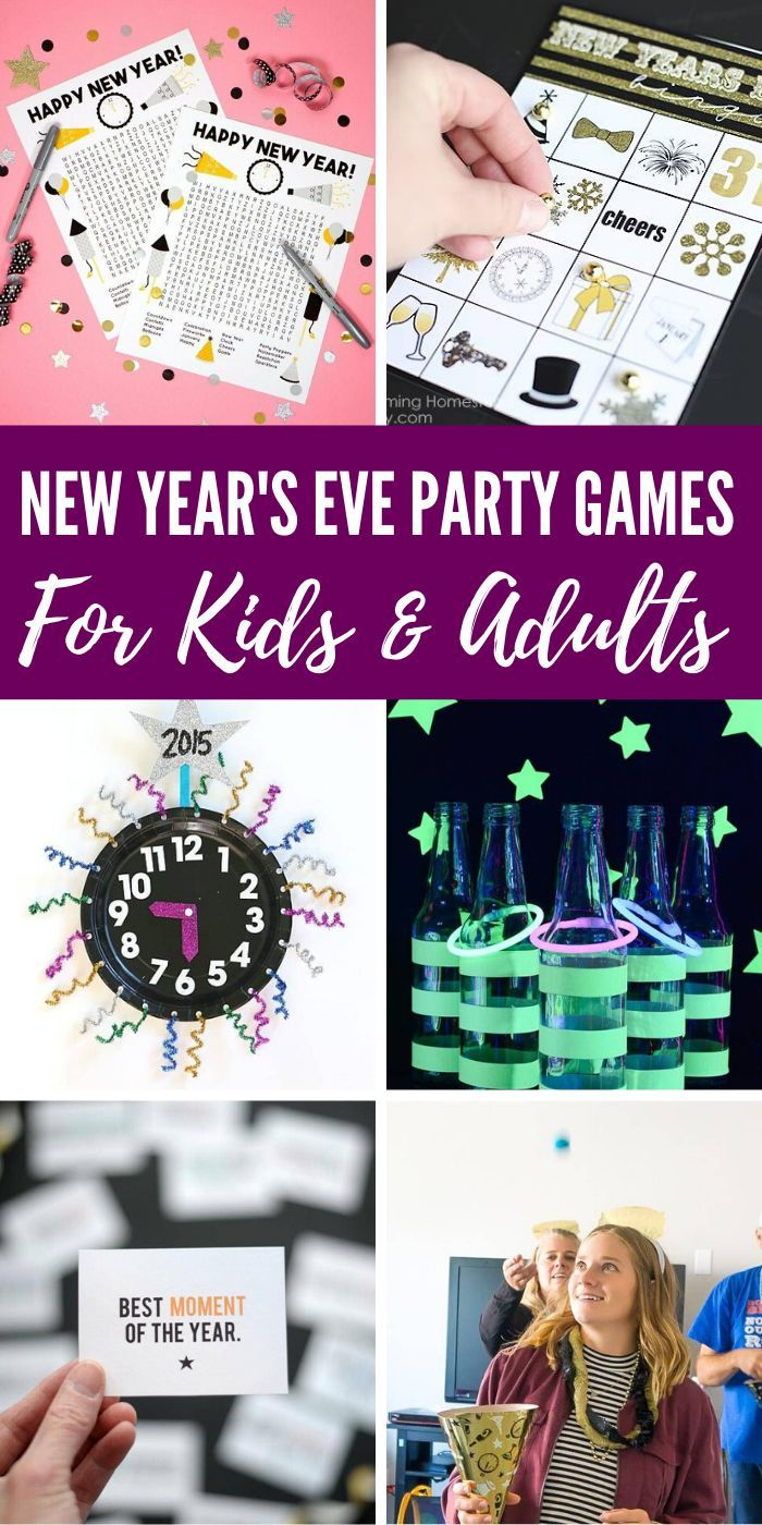 New Year's Eve Party Games and Ideas for Kids! 15 Amazing ...