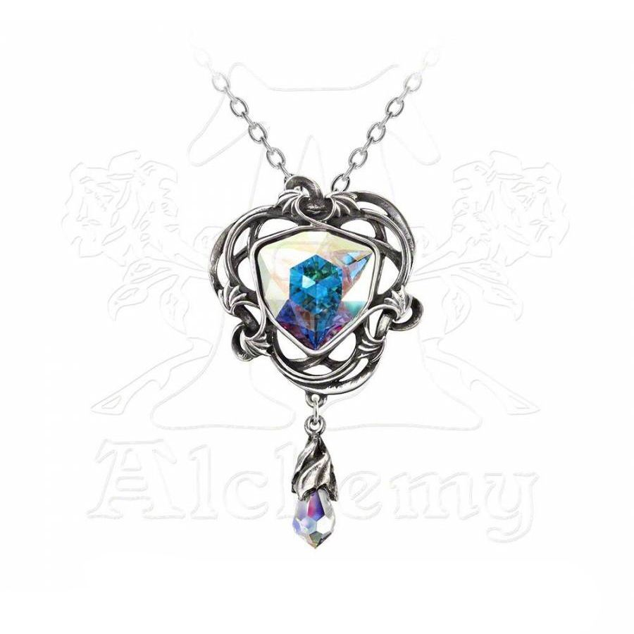 "Collier Alchemy Gothic ""Empyrean Eye: Tears From Heaven"""