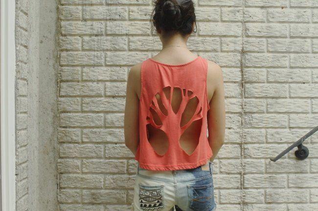 16 Formas de transformar aquela camiseta velha em uma roupa estilosa ... 8898af57cbe