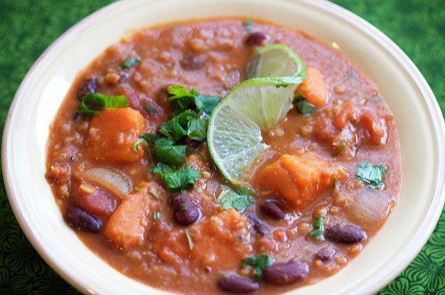 Red Lentil Thai Chili | Post Punk Kitchen | Vegan Baking & Vegan Cooking