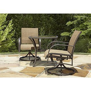 Kmart 3 Piece Bistro Set Perfect Balcony Furniture Outdoor