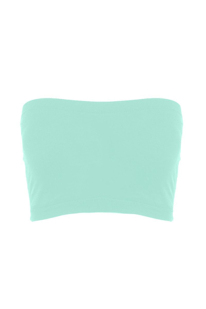 Seamless Crop Tube Top-Birds Egg-One Size Fits Most #tubetopoutfits