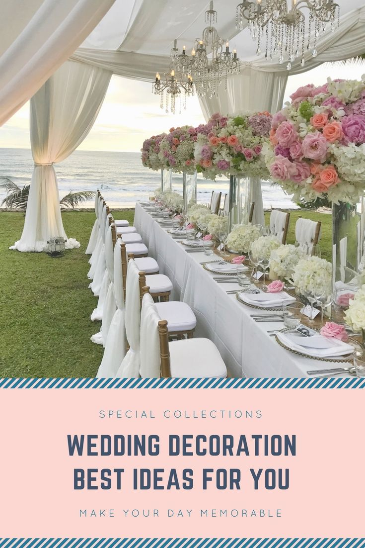 Decorate Your Family Wedding Reception With The Help Of These Up To