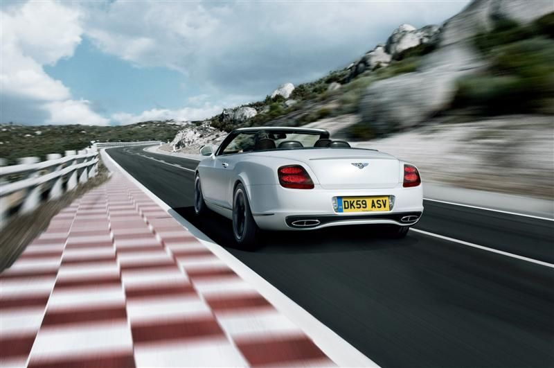 2010 Bentley Continental Supersports Convertible Images