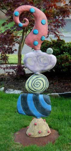 Marissa motto ceramics z totem1 pinterest keramik for Gartengestaltung joanna