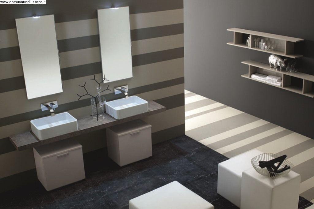 Bagno con doppio lavandino | Mobili | Pinterest
