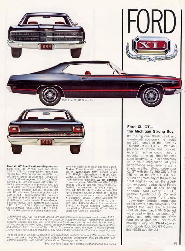 Car Brochures - / 69-6.jpg   Ford   Pinterest   Brochures, Cars and ...