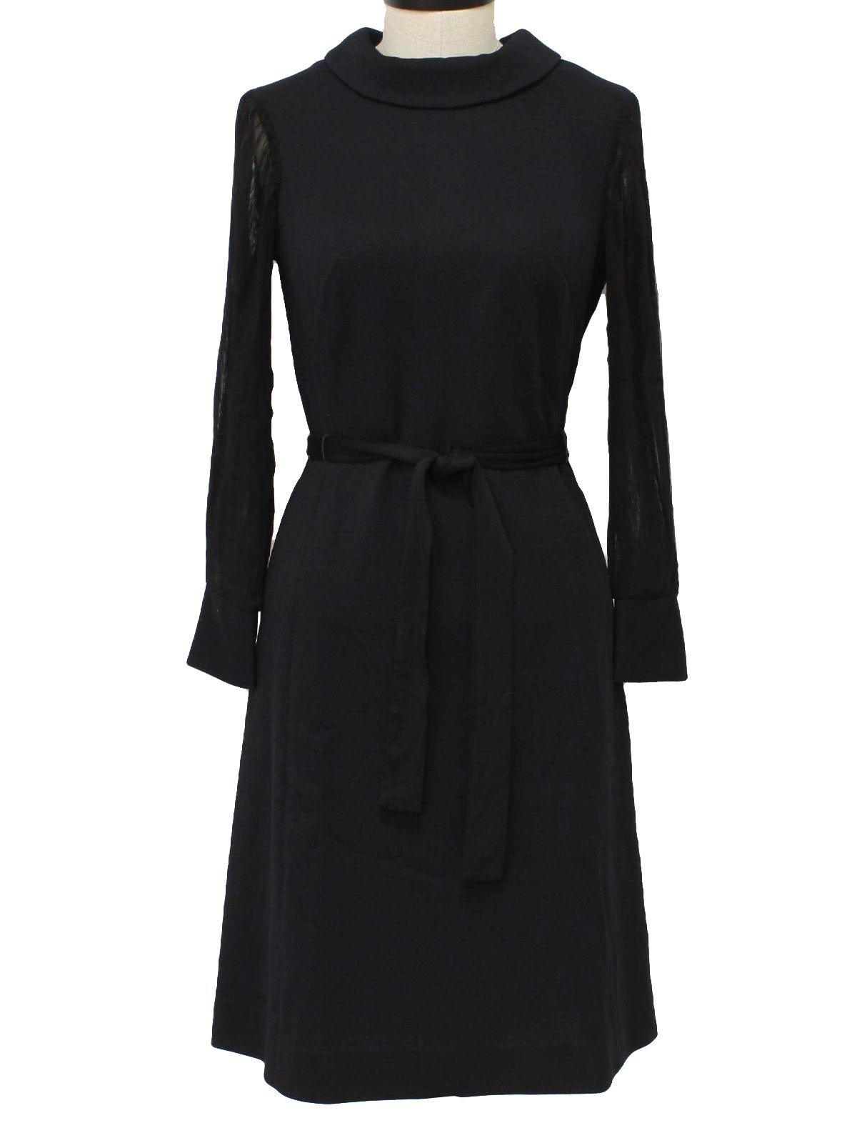 RustyZipper.Com Vintage Clothing  Little black dress, Black