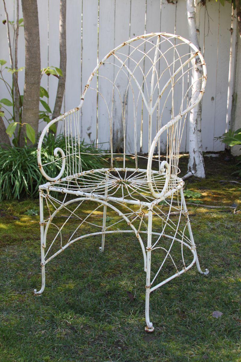 Catalog  Shop Greige  Vintage outdoor furniture, Wire chair