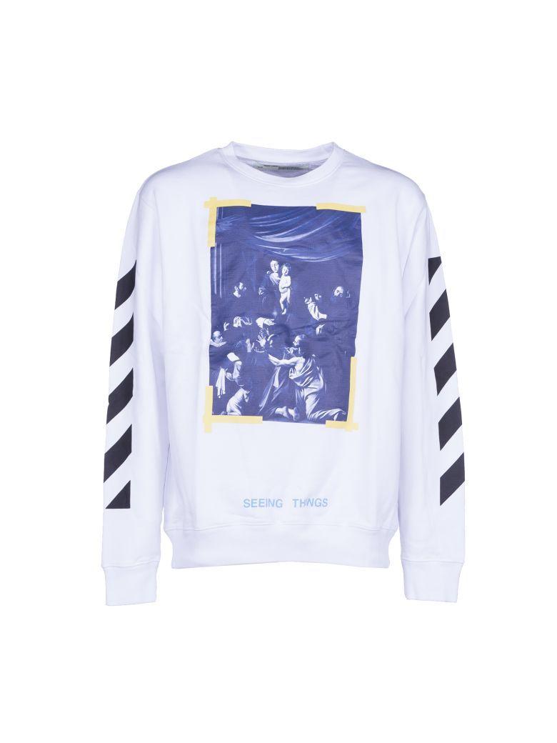 c1cc86e11197 Men Clothes · OFF-WHITE Off White Diag Caravaggio Crewneck.  off-white   cloth