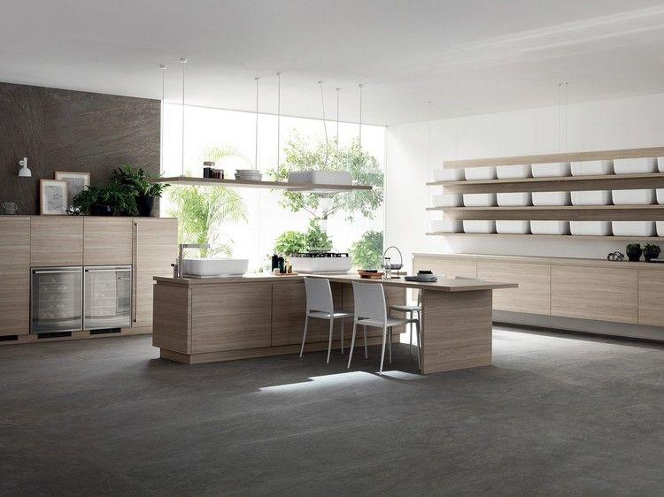 Einrichtung für Küche modernes küchendesign insel theke einrichtung ...