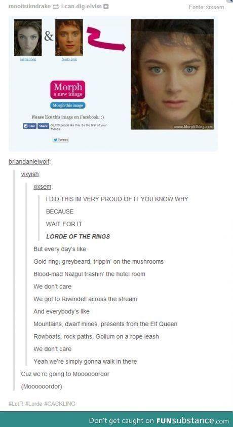 lorde royals parody lotr - Google Search