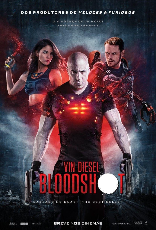 Bloodshot Novo Pôster em 2020 Assistir filmes gratis