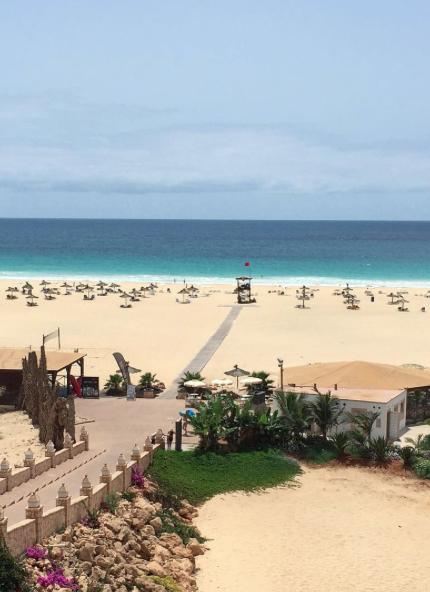 Beach on Boa Vista island, Cape Verde #Kaapverdie