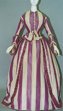 Early 1860 day dress