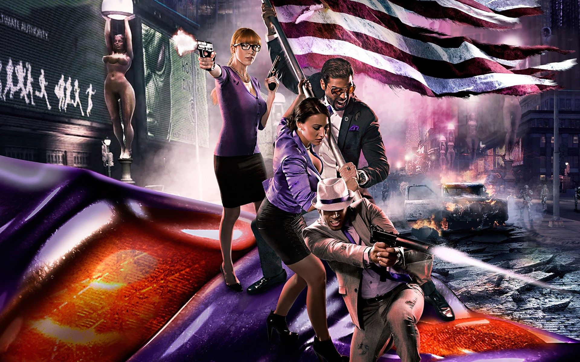 1920x1200 Saints Row Iv Game Wallpaper Saints Row Iv