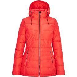 Killtec Damen Jacke in Daunenoptik mit abzippbarer Kapuze, Größe 44 in rot, Gr… – Products