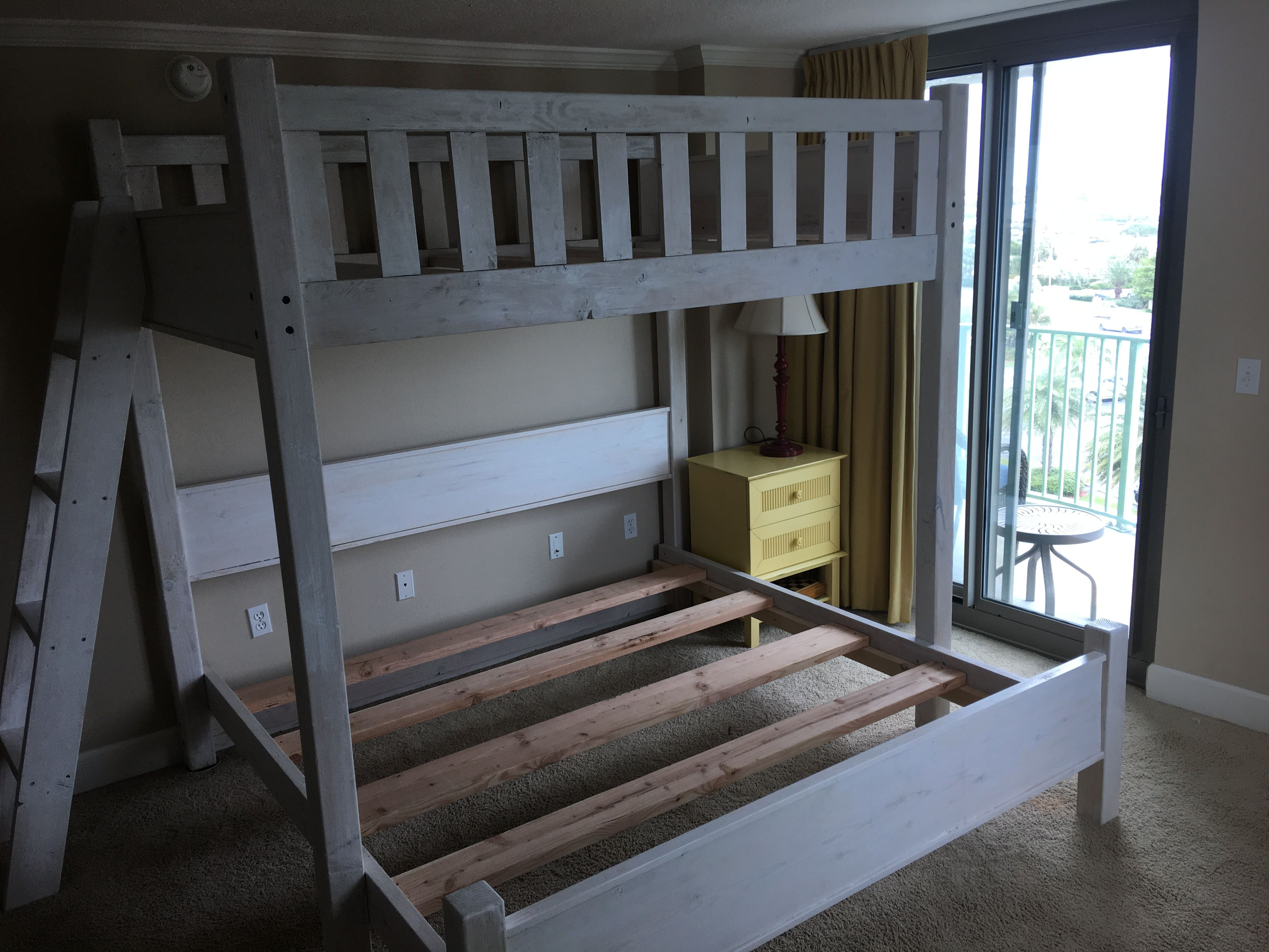 Twin Over King Bunk Bed In Pensacola Florida Adult Bunk Beds