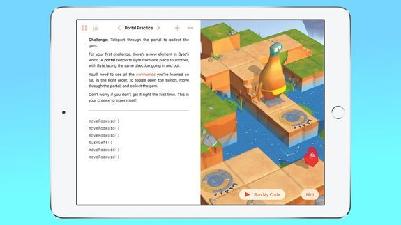 Swift Playgrounds aims to teach kids to code in a highly engaging way