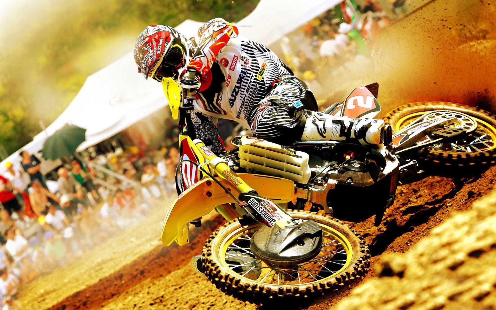 Ultra HD motocross suzuki rmz 450