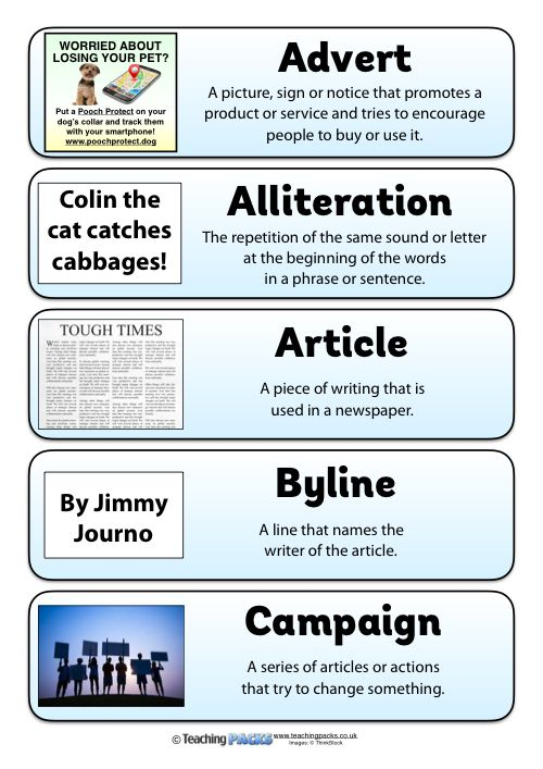 The Newspaper Reports Pack   Report Writing Skills Writing