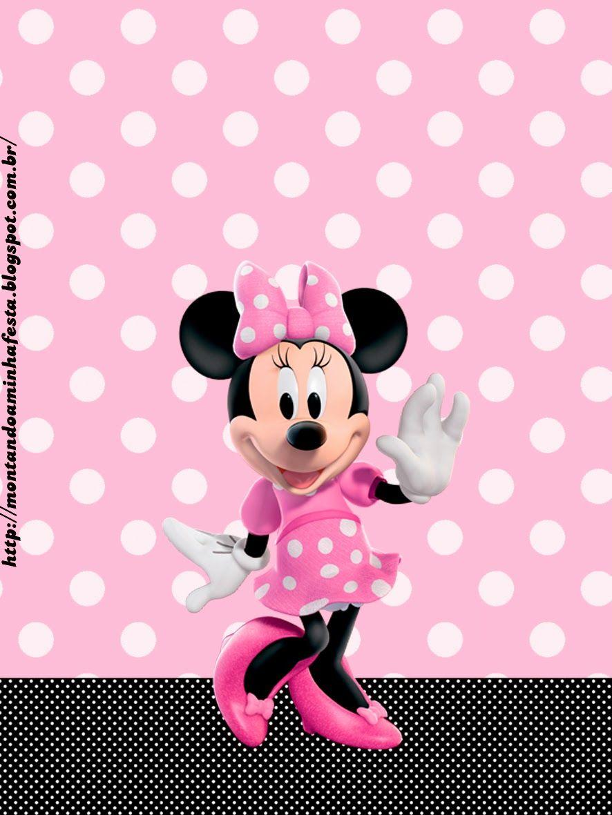 Minnie Rosa: Etiquetas para Candy Bar, para Imprimir Gratis ...