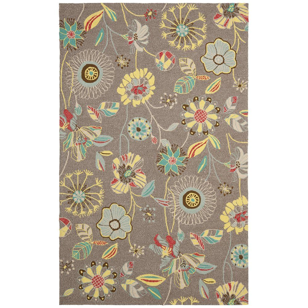 Safavieh FRS482A Four Seasons Grey and Blue Area Rug | ATG Stores