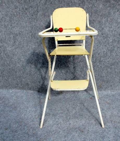 Pliante Enfant 50 Chaise VintageUnivers Bébé Haute Année e2WDHIE9Y