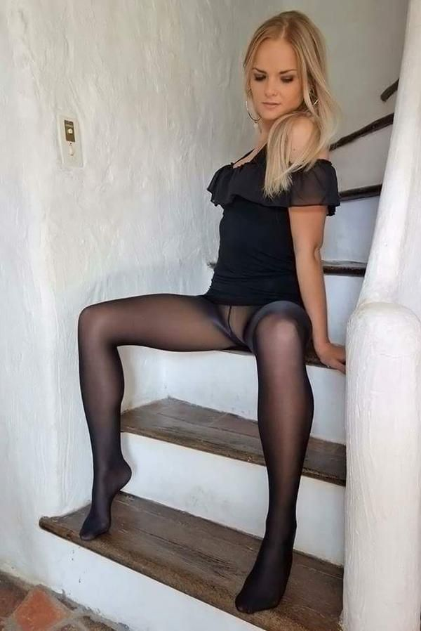 Pantyhose amateur leg video preview