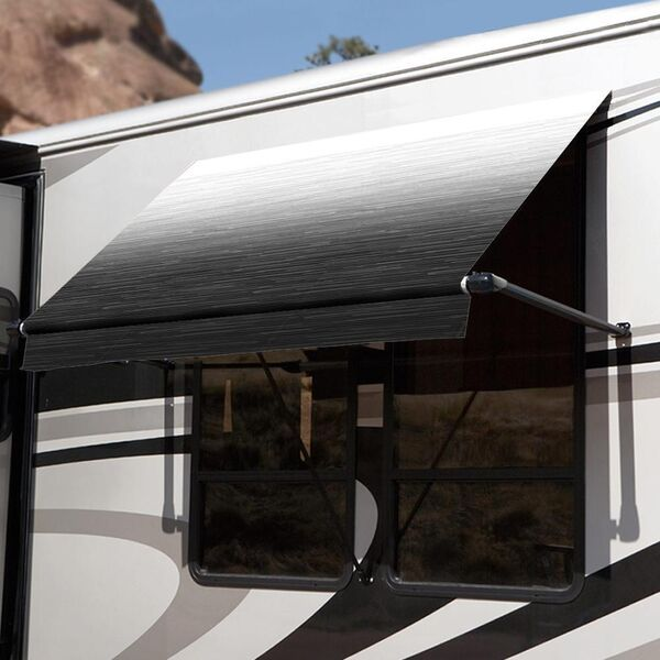 Carefree Window Awnings in 2020   Camper awnings, Awning ...