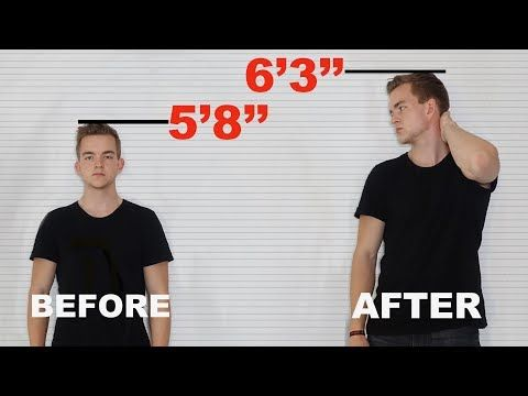 Height Increase Exercises - Grow 3-6 Inches Taller in 90 days