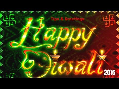 Happy Deepavali 2016 | Happy Diwali 2016 | Latest Diwali Greeting & Wishes Whatsapp Videos 2