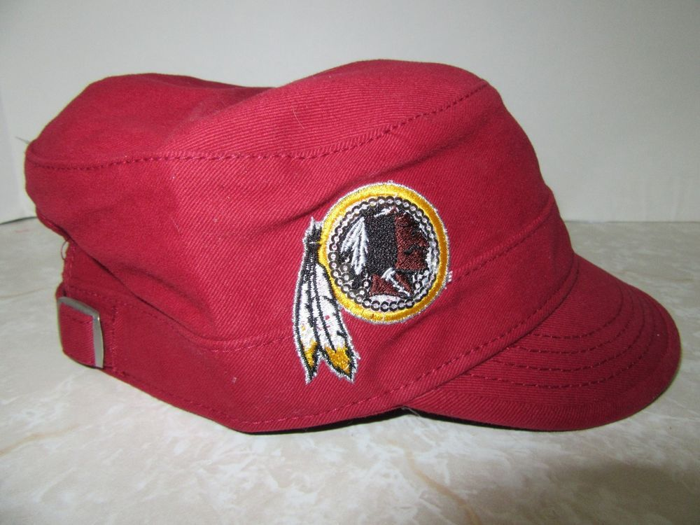 e533dc273 Washington Redskins NFL Apparel Women s Military Cadet Hat Cap New   NFLTeamApparel  WashingtonRedskins
