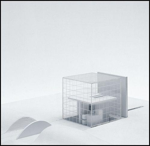 Dam Model Poetik Des Hauses 04 Architecture Model Architecture Architecture Design