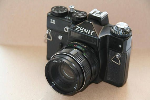 Camera Zenit 11 With Helios 44m 4 Camera Lens Helios 44m 4 S