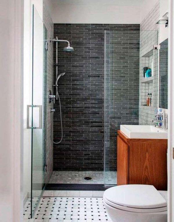 Ideas de ba os peque os con ducha 2016 las duchas con - Fotos de banos muy pequenos con ducha ...