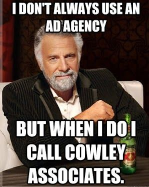 Cowley #DosEquis #meme - he looks like Paul #LOL http://www.cowleyweb.com/contact