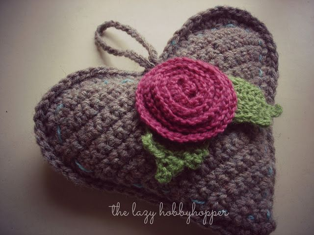 Crochet | Corazones | Pinterest | Ganchillo, Llaveros y Broches