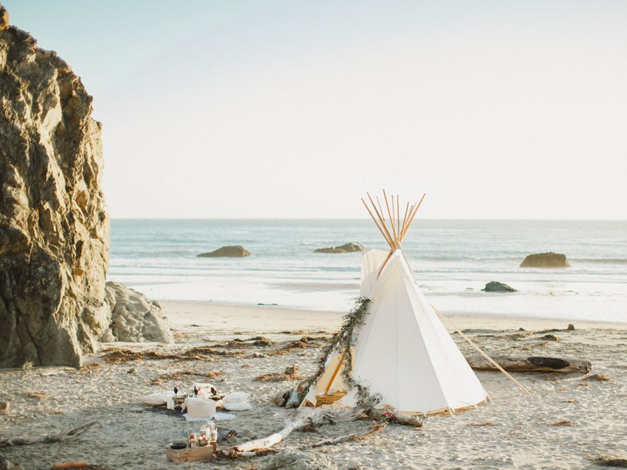 Beach Camping In Sur